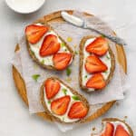 Strawberry Coconut Sandwich