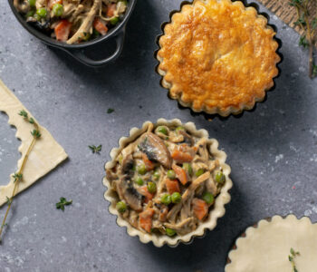 mini chicken pies