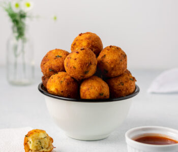 Potato Goat's Cheese Balls