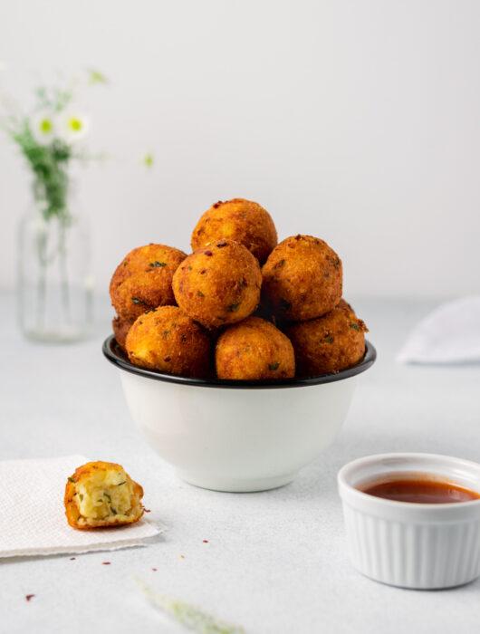 Potato Goat's Cheese Balls