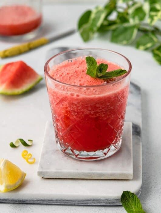 Refreshing Watermelon Cranberry Mocktail